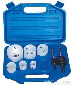 8pc Bi-metal hole saws set