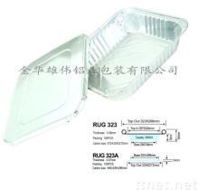 Vaschetta profonda di formato mezzo della lamina di alluminio di vendita