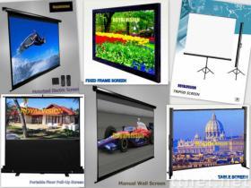 プロジェクタースクリーンまたは映写幕の壁スクリーンまたは三脚スクリーンの/electricスクリーン