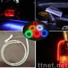 120 cm Auto Van Wheel Strip LED Bulb Light with 12V DC Voltage and White Color