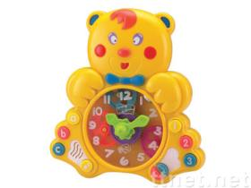 1351E Bear Learning Clock