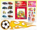 Car PU Dome/Puffy Sticker/Sticker (Die-cut) Pack/Hologram Gold Trim Sticker
