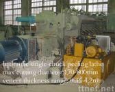 hydraulic single-chuck peeling lathe
