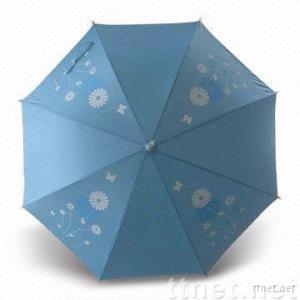 Straight Umbrella with Plastic Handle