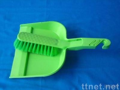 dustpan w/brush