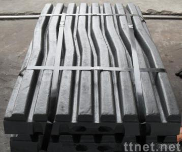 machinery parts(jaw plate,high manganese steel parts,csting parts,crusher parts)