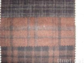 Wool Plaid Fabric(01422)