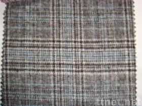 Wool Plaid Fabric(01428)