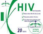 Schnelle HIV-Test-Installationssätze, Haupt-HIV-Test-Installationssatz, ein Schritt HIV-Test-Installationssatz, Test HIV zu Hause mit Vertraulichkeit 100% frei.