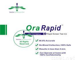 Mund-HIV-Test-Installationssatz, Haupt-HIV-Test-Installationssatz, schneller HIV-Test, Schirm-Test-Installationssatz des Speichel-HIV-1/2 schneller