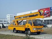 de vrachtwagen van de hoge hoogteverrichting