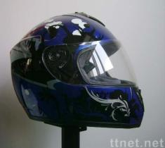 Full face helmet with ECE approval