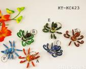 octopus shaking key chain