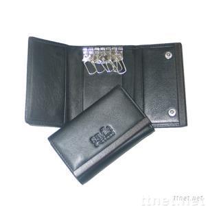 key holder, key case ,key wallet ,leather key holder