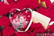 3D Valentine's Crystal Gift