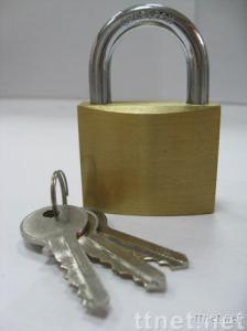 brass padlock H40