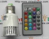 Remote Control RGB LED Bulbs