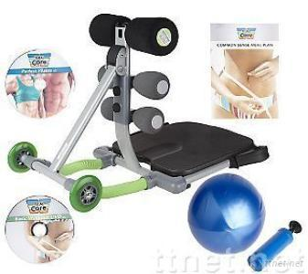 Total Core With Gym Ball Deluxe