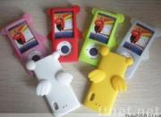 cartoon character Silicone Skin For ipod