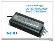 LED Driver, Constant Voltage (GD-0012V200W)