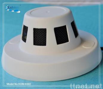Color Smoke Detector CCD Dome Camera
