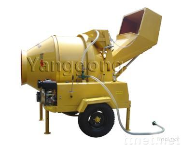 Conical Drum Reversing Concrete Mixer