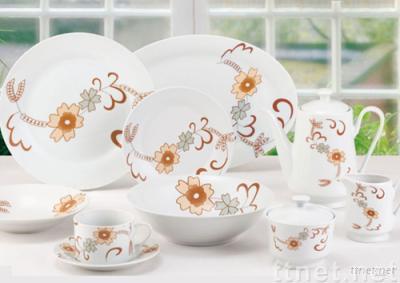 47pcs porcelain dinner set