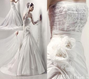 wedding dress,evening dress