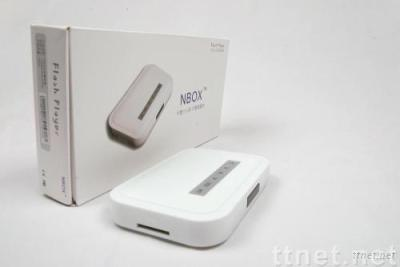 NBOX flash media player