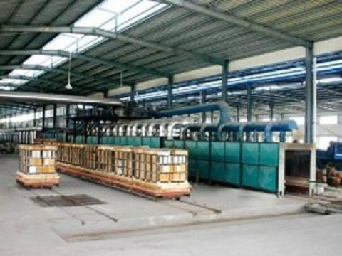 Tunnel kiln production line