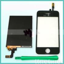iPhone 3G di Apple convertitore analogico/digitale dello schermo di tocco + dell'affissione a cristalli liquidi