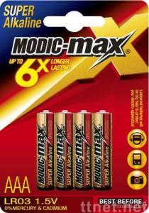 alkaline battery (LR03-AAA)
