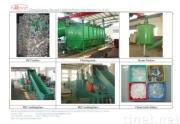 PET bottles recycling & washing machine