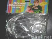 Glasses Drink Straw