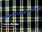 Plaid cotton denim fabrics