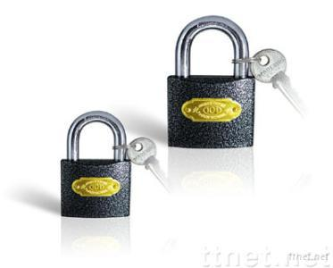 Plastic Covered Iron Padlock