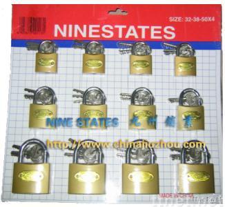 Imitate Brass Padlock(skin card)