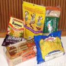 sacchetto di plastica dell'alimento