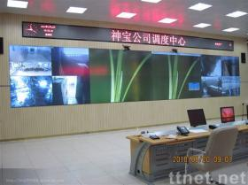 Microstructuredの光学背面映写スクリーン