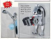 Super Strong Suction Shower Nozzle Rack with Hook