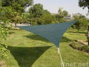PE grey triangle shade sail