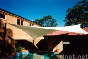 ivory square shade sail