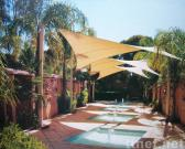 5m square shade sail
