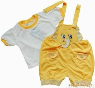 elephant baby clothing set/ children garment TPA1061