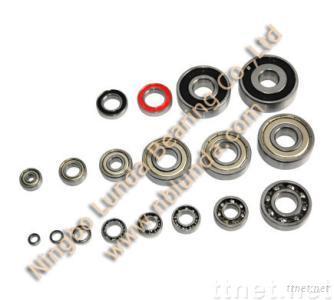 Deep groove ball bearings of 6201zz
