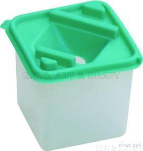 ECS24103-Brush Washer, Plastic Brush Washer, Artist Brush Washer, Plastic Pot, Pot