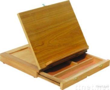 ECS16110, Book Stand, Wooden Book Stand, Book Stand Beech or Elm, Artist Book Stand, Children Book Stand