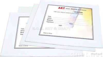 ECS13115-Canvas Panel, Panel, Artist Canvas Panel, Drawing Canvas Panel, Paper Board Canvas Panel