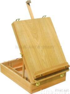 ECS16118, Easel, Wooden Easel, Box Easel, Artist Easel, Children Easel