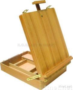 ECS16119, Wooden Box Easel, Box Easel, Artist Easel, Children Easel